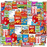Canopy Snacks (60 Count) - Ultimate Snacks Care Package – Variety Snack Box Gift Pack – Assortment Bundle with Chips, Candy and Cookies for College Students or the Office