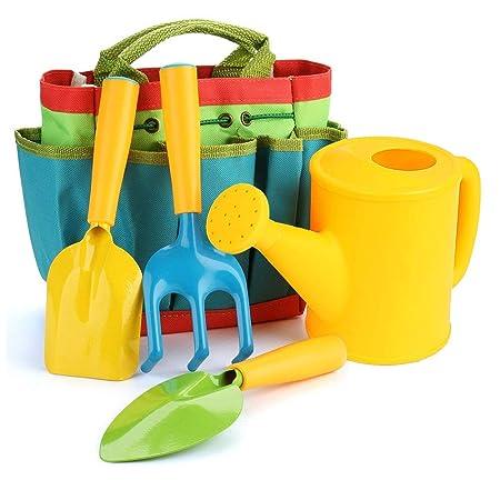 DYM258 Juego de Herramientas de jardín para niños Juego de ...