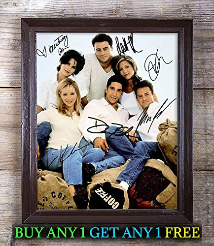 Friends Tv Show Cast - Friends Tv Show Cast Autographed Signed 8x10 Photo Reprint #53 Special Unique Gifts Ideas Him Her Best Friends Birthday Christmas Xmas Valentines Anniversary Fathers Mothers Day