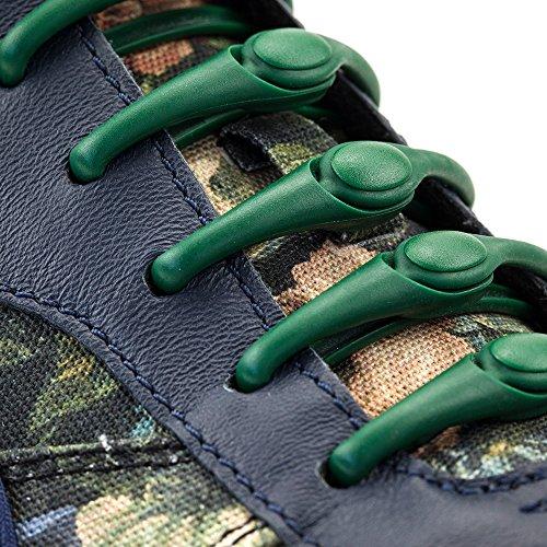 HICKIES 1.0 Originals elastische Schnürsenkel, unisex, Einheitsgröße, kein Schuhe binden, für alle Schuhe geeignet sonstige