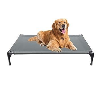 Veehoo Cama Elevada para Perro Grande, Cama Perro Impermeable, Cómodo Cama para Mascotas,