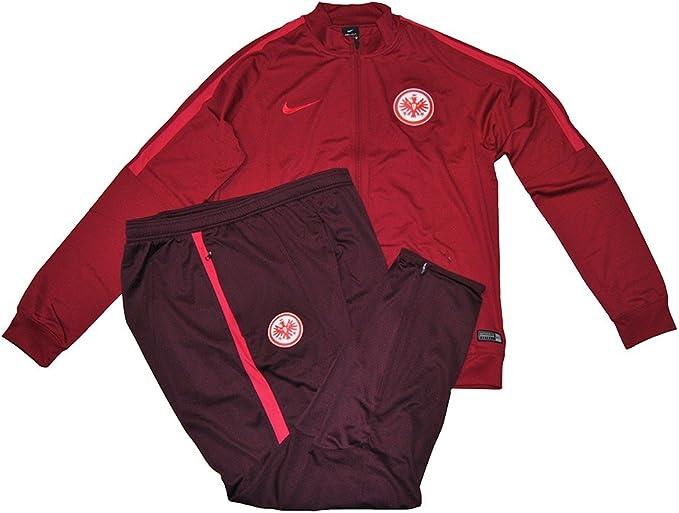 Nike SGE M NK Dry TRK Suit SQD K Chándal, Hombre, Rojo (Noble Red ...