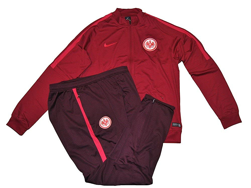 Nike SGE M NK Dry TRK Suit SQD K TrainingsanzugRot 2XL