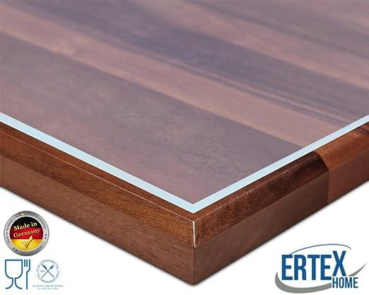 Ertex – Protector de mesa transparente o efecto mate/carbono, 2,2 ...
