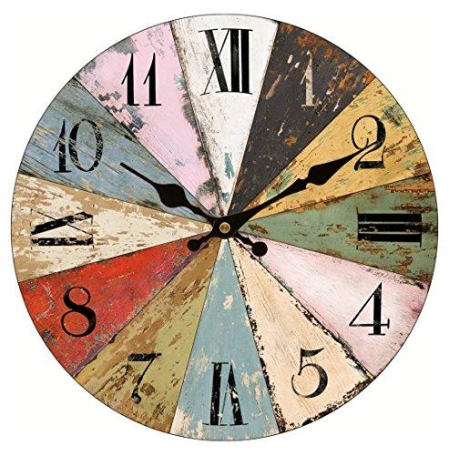 Office Clocks Wooden Wall - 5