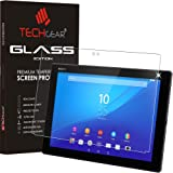 TECHGEAR® Tablette Sony Xperia Z4 VERRE Édition Original Verre Trempé Protecteur d'Écran