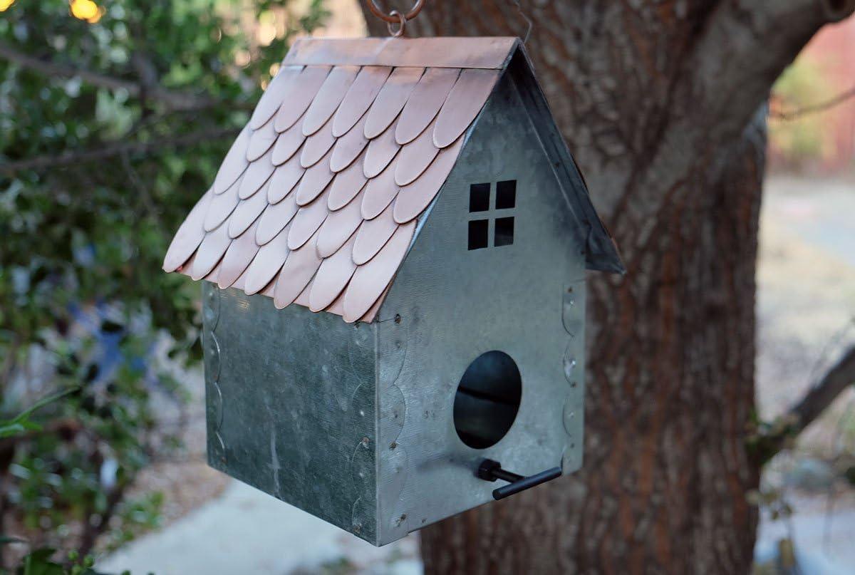Galvanized Birdhouse
