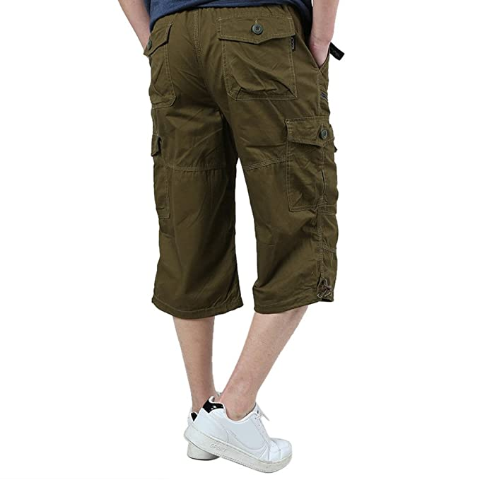 Baumwolle Beiläufige Kurze Hose Mann Größe Cargohose Männer