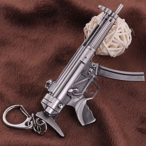 - 1 Pc Mini Pocket Eagle Weapons Keychain Keyring Keyfob Gun Chaveiros Key Chain Ring Fob Tag Holder Finder Necklace Good Popular Cute Wristlet Utility Keychains Tool Teenagers Teen Gift, Type-06