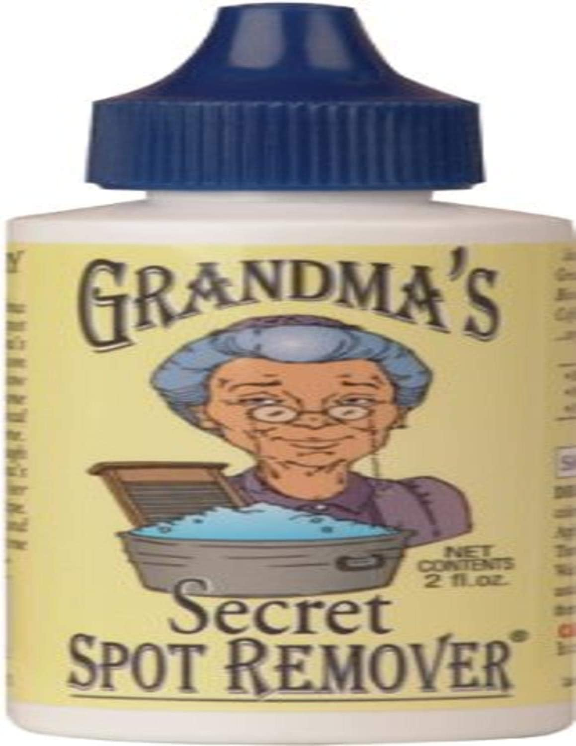 Grandma's Secret GSSR1001 Spot Remover, 2-Ounce, Single Pack, White, 2 Fl Oz