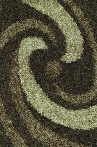 (Dalyn Rugs Visions VN 6 Taupe Area Rug, 3-Feet 6-Inch by 5-Feet 6-Inch)