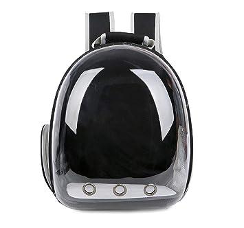 Mali Pet Mochila Salir Portátil Cachorro Paquete Espacial Gato Bolsa De Viaje Transpirable Bolso De Escuela 34 * 25 * 42Cm,Black: Amazon.es: Deportes y aire ...