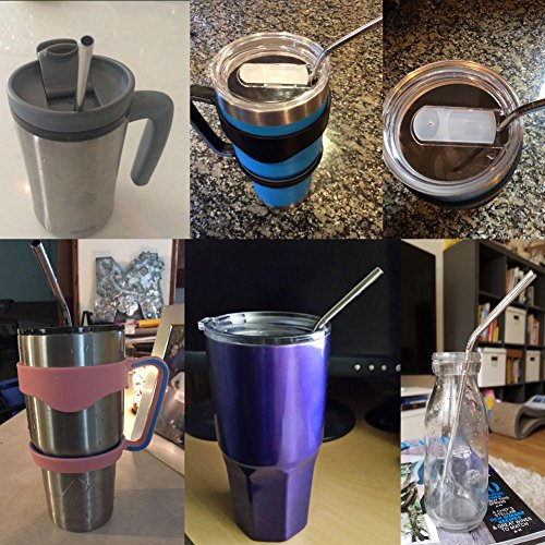 Yeti Cup Prices >> Accmor 18/8 Stainless Steel Straws, Reusable Metal ...