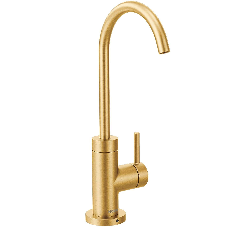 Moen S5530BG Sip Modern Beverage Faucet Brushed Gold