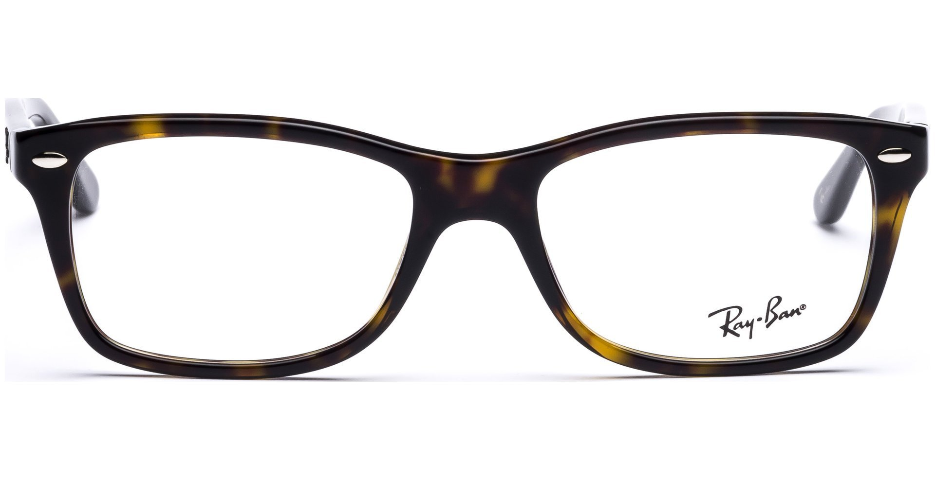 Ray-Ban Women's RX5228 Eyeglasses Dark Havana 55mm by Ray-Ban