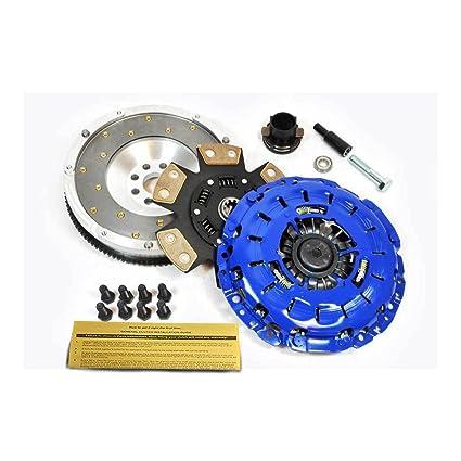 Amazon.com: EFT STAGE 3 CLUTCH KIT+FIDANZA FLYWHEEL BMW 323 325 328 330 525 528 530 Z3 E46: Automotive