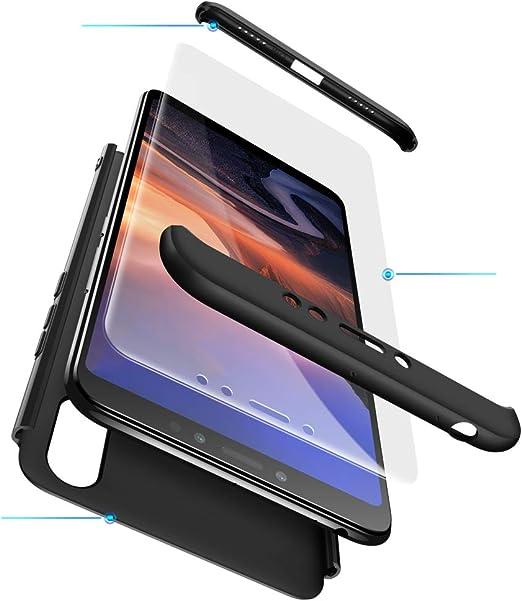 Funda XiaoMi Mi Max 3 Carcasa XiaoMi Mi Max 3 con[Protector de ...