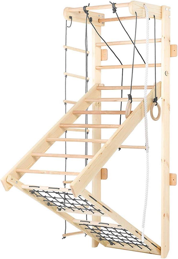 Sprossenwand Holz - Kidsmont Sprossenwand klappbar