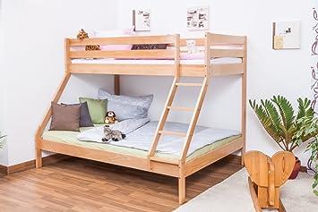 Etagenbett Weiss Buche Massiv : Buche massiv etagenbetten online kaufen möbel suchmaschine