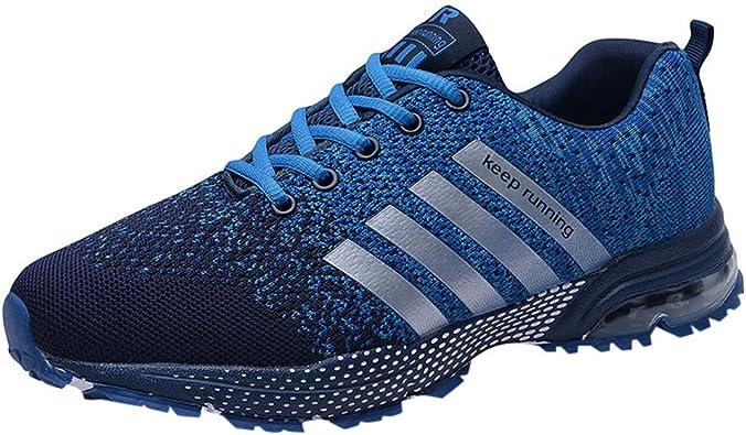 Zapatillas Unisex, Logobeing Zapatillas Running Hombre Mujer Deporte Zapatos Deporte para Correr Trail Fitness Sneakers Ligero Transpirable Gimnasio 36-47: Amazon.es: Zapatos y complementos