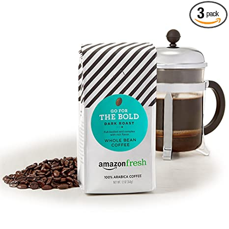 Review AmazonFresh Dark Roast Whole