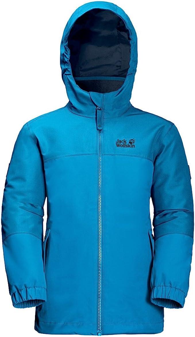 Jack Wolfskin Iceland 3 in 1 Mädchen Outdoorjacke in blau
