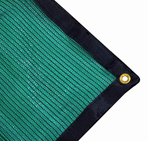 Harvest 70% Green Shade Cloth with Grommets, Premium Heavy Duty Mesh Tarp (12ft X 10ft)