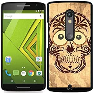 Funda para Motorola Moto X Play - Cráneo Ingenio Ojos Grandes by More colors in life