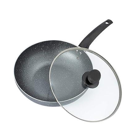 Platane Wok de Aluminio de 28 cm Antiadherente con ...
