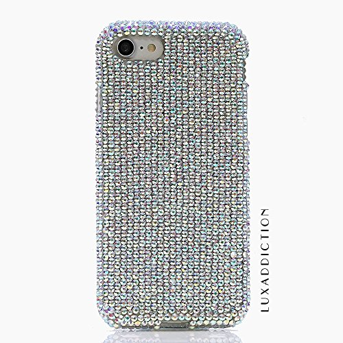 "iPhone 6 (4.7"") Bling Case - BlingAngels® Luxury Bling iphone 6S Case Cover Faceplate Swarovski Crystals Diamond Sparkle bedazzled jeweled Design Back Snap-on Hard Case (100% Handcrafted by BlingAngels) (Authentic AB Clear Crystals Design)"