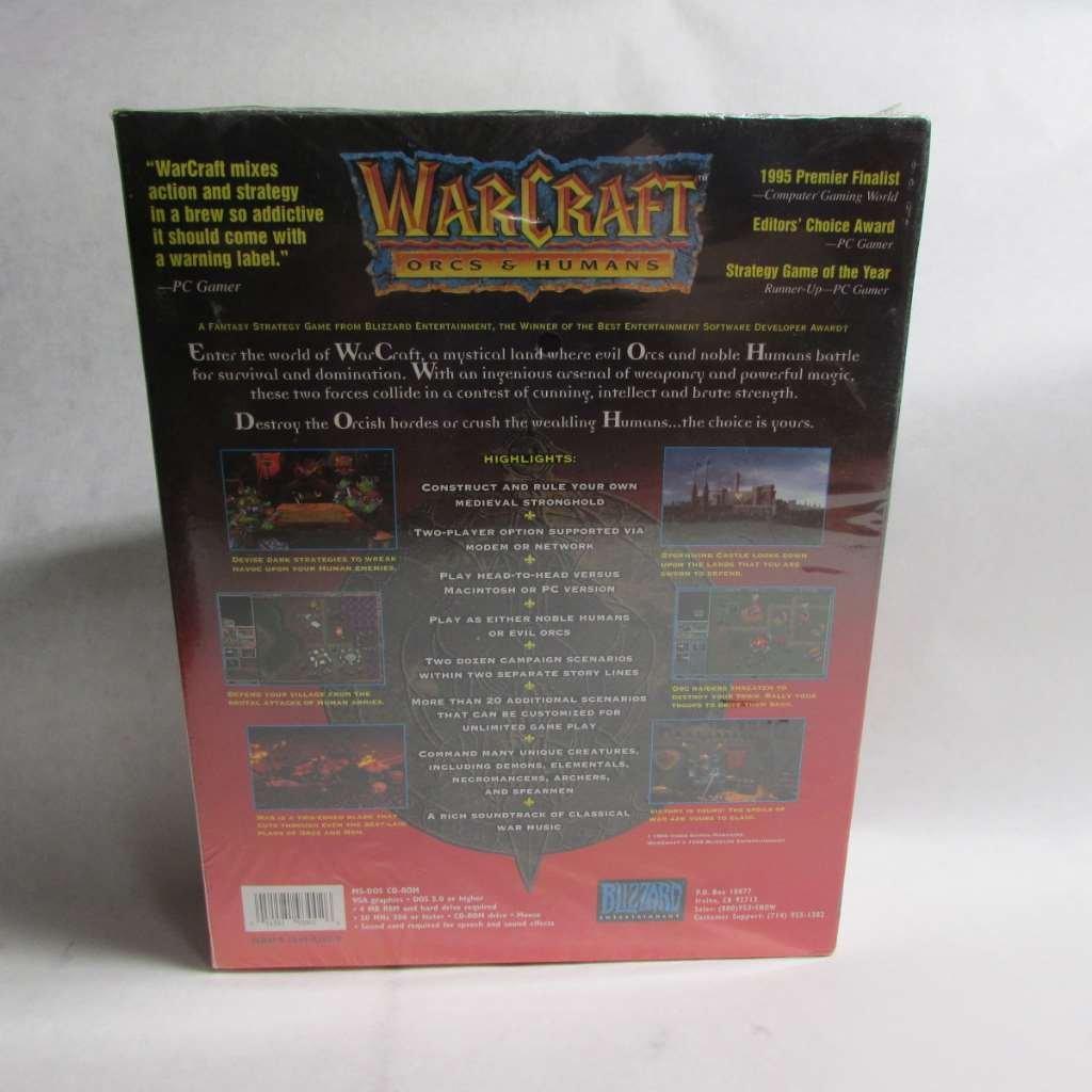 Amazon Com Warcraft Orcs Humans Various Video Games