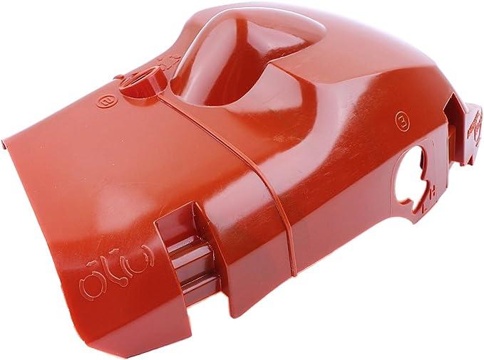 Haishine Cubierta Superior de la Cubierta del Cilindro del Motor de para Husqvarna 445 450 E 445E 450E Partes de Motosierra de Gas 544348303