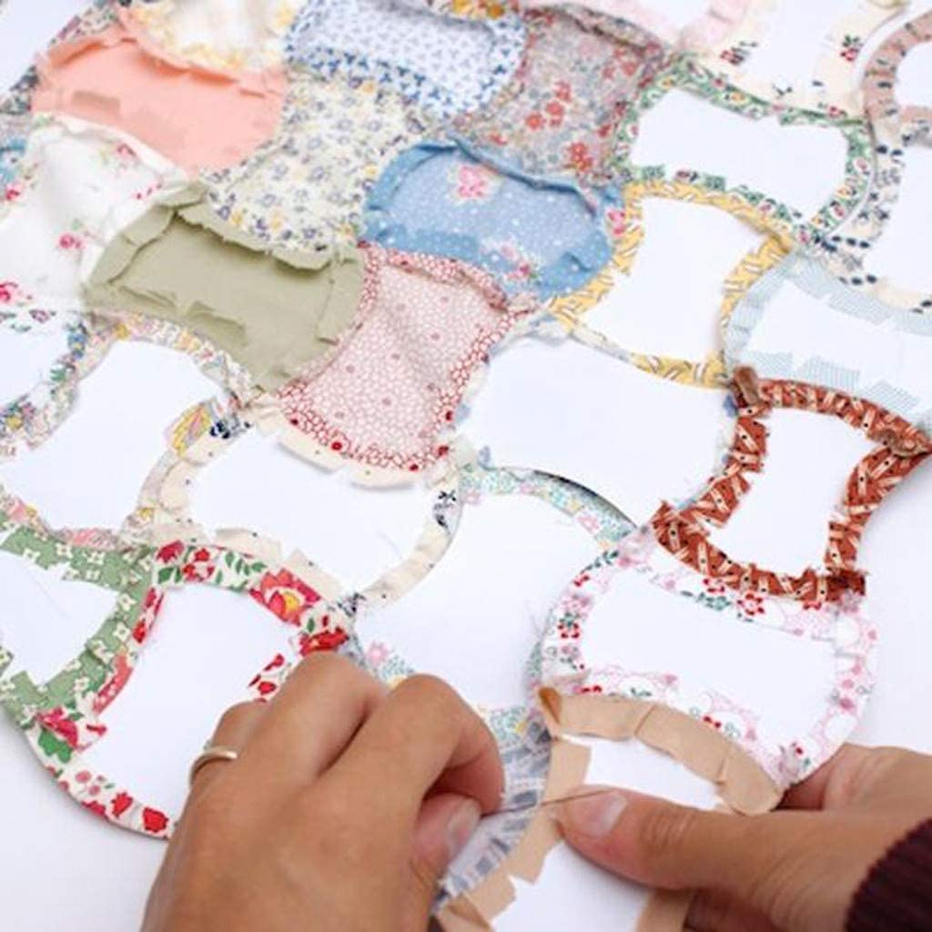 A Apple Core English Paper Piecing Projects Quilting Templates Patchwork Sewing Craft DIY 200Pcs