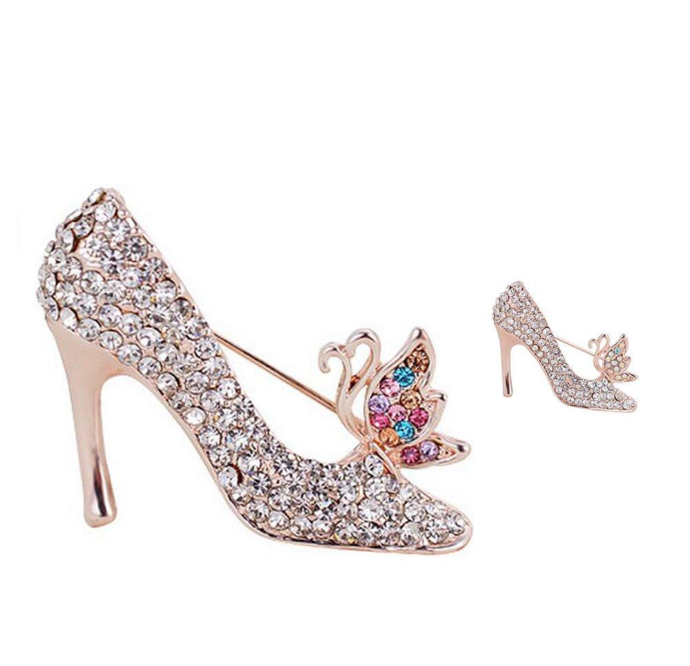 Da.Wa Accesorios de Moda Broche Ropa Broches Zapatos de Tac/ón Alto
