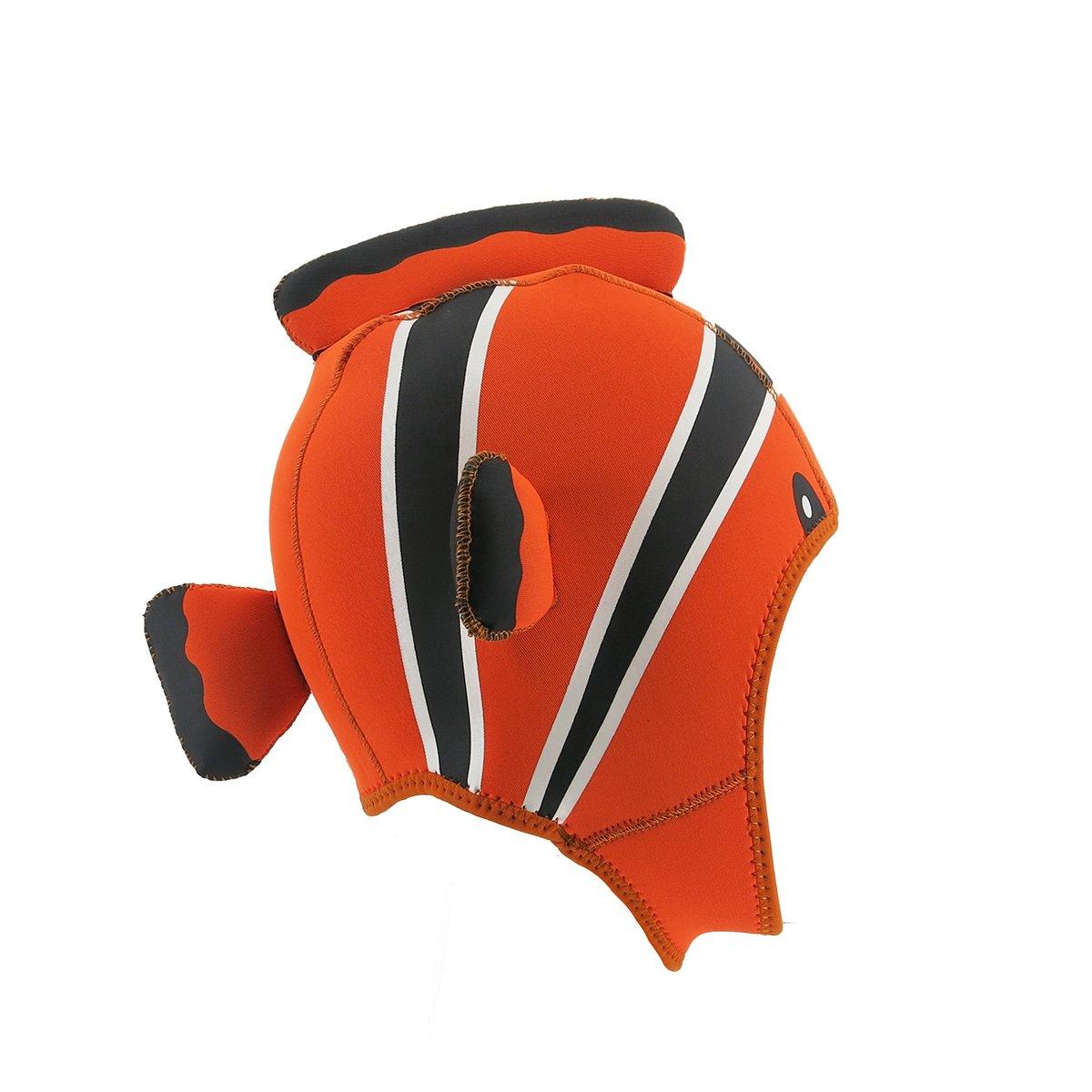 Kinno Scuba Wetsuit Hood, Nemo Premium Neoprene 3mm Vented Scuba Diving Hoods for Scuba Diving, Snorkeling, Spearfishing by Kinno Scuba