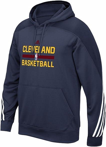 Compra apuntalar Distinguir  Amazon.com : adidas Cleveland Cavaliers NBA Navy Blue Authentic On ...