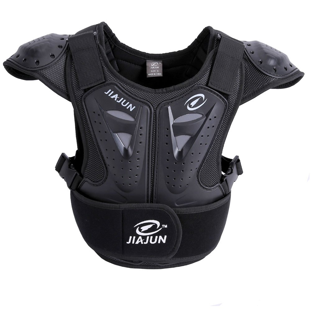 Xlight.ca Children Cycling Motorcycle Armor Vest Motocross Body Guard Skiing Riding Skateboarding Chest Back Protector