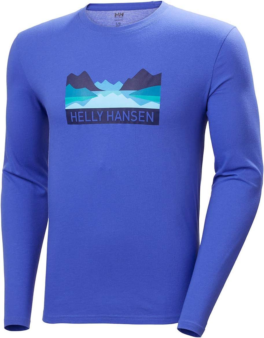 Camiseta Manga Larga Hombre Helly Hansen Nord Graphic Longsleeve T-Shirt