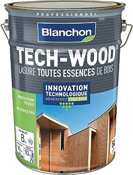 Barniz Tech-Wood – Blanco – 5 litros – Roble oscuro: Amazon ...
