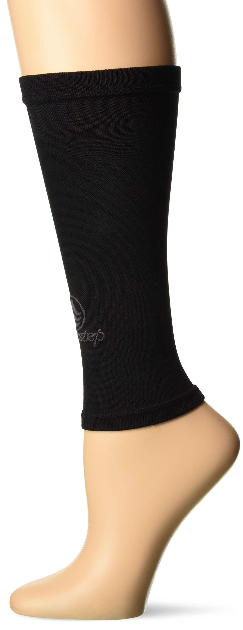 Powerstep Performance Calf Sleeves, Women, black X-Large Regular US
