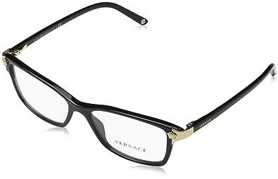 ebb9aaa77ff5 Amazon.com  Versace Women s VE3156 Eyeglasses 53mm  Versace  Shoes