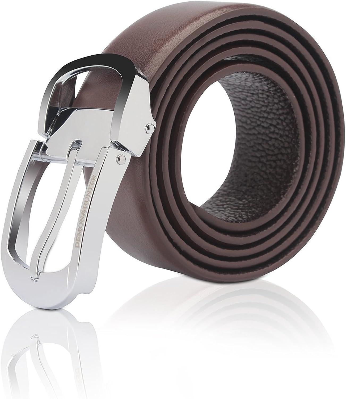 Demon&Hunter PBL Series Men's Luxury Prong Buckle Belt H00600 No.I