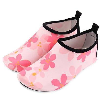LanLan Zapatos de niños, Calzados/Zapatillas/Sandalias de niños Calcetines Tipo Playa para