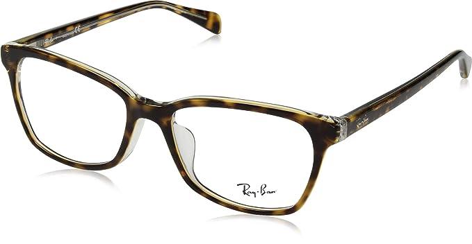 4132a02cbc Ray-Ban RX5362F - anteojos de sol para mujer, 54 mm, transparente ...