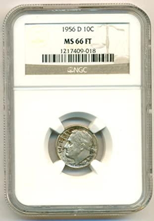 1 1956 Roosevelt Dime //// Gem Proof *Full Torch* //// 90/% Silver ////1 Coin