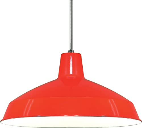 Nuvo Lighting SF76 663 Warehouse Shade, Red