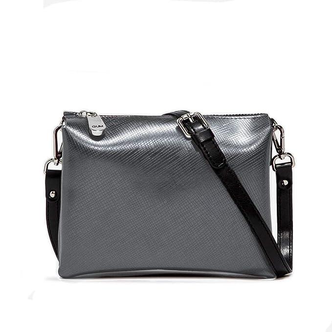 eee81fb5fb GUM Gianni Chiarini Design | BORSA SINTETICO IRON | GUM_BS 4049/18AI_5347_GR:  Amazon.it: Abbigliamento