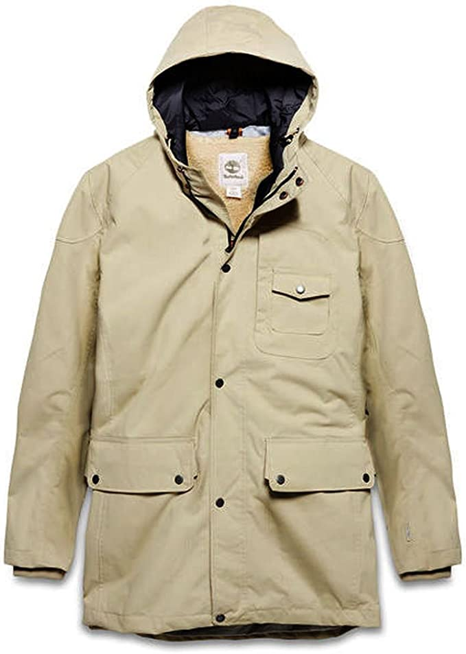 Timberland Mens Winterjacke Parka Rollins 2 in 1 (Medium