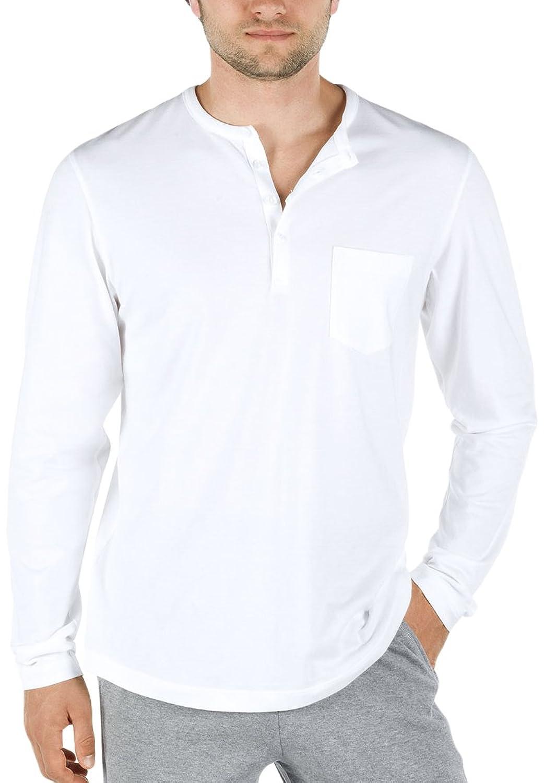 Calida Men's Shirt Langarm Remix Basic T-Shirt