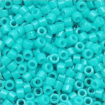 Miyuki Delicas 11//0 Opaque Torquoise Seed Beads DB-729